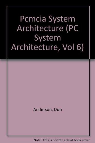 9781881609117: Pcmcia System Architecture (PC System Architecture, Vol 6)