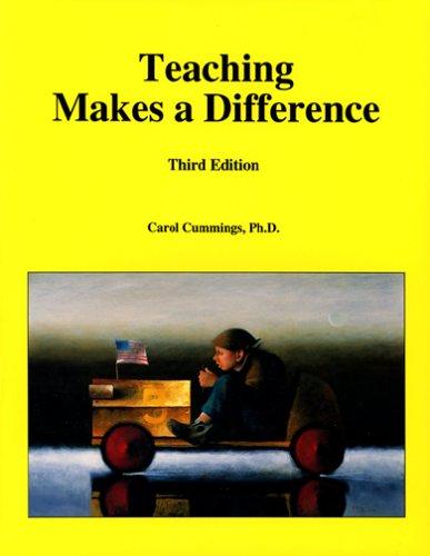 Teaching Makes a Difference: Cummings, Carol Ph.D.