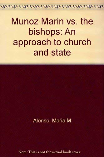 9781881713418: Munoz Marin vs. the bishops: An approach to church and state