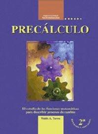 9781881713883: Precálculo. El estudio de las funciones matemáticas para describir procesos de cambio.