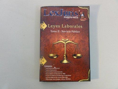 9781881722915: Leyes Laborales de Puerto Rico, Vol. 2: Servicio Publico, Spanish Edition (Book & CD-ROM)