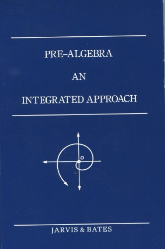9781881764007: Pre-Algebra - An Integrated Approach