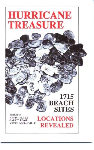 9781881777021: Hurricane Treasure: 1715 Beach Sites - Locations Revealed