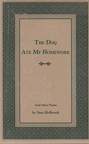 9781881786009: The Dog Ate My Homework