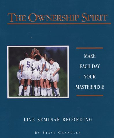 9781881840039: The Ownership Spirit: (Live Audio Seminar Recording on Cassette)