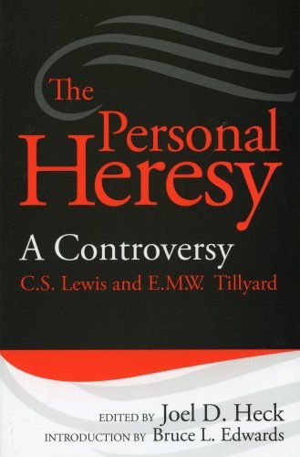 9781881848103: The Personal Heresy: A Controversy