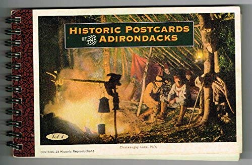 9781881857044: Historical Post Cards of the Adirondacks, Volume 1
