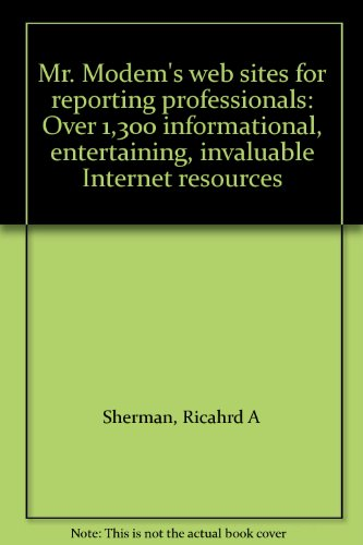 9781881859239: Richard's No-Nonsense Guide To Web Sites For Court Reporters