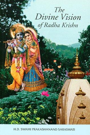 9781881921073: The Divine Vision of Radha Krishn