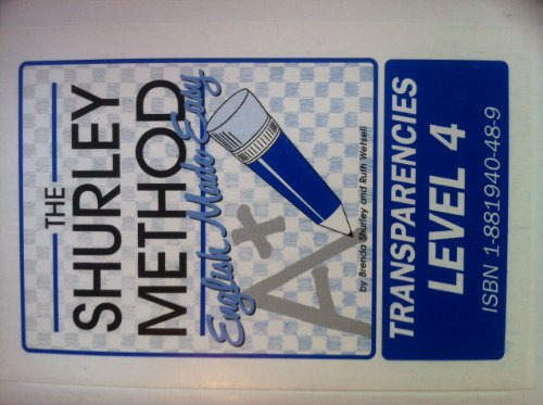 The Shurley Method-English Made Easy, Grade 4, Second Edition: Transparencies Set (1997 Copyright):...