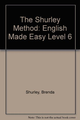 9781881940555: The Shurley Method: English Made Easy, Level 6, Teacher's Manual