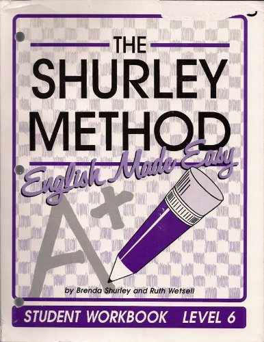 9781881940562: The Shurley Method: English Made Easy : Level 6