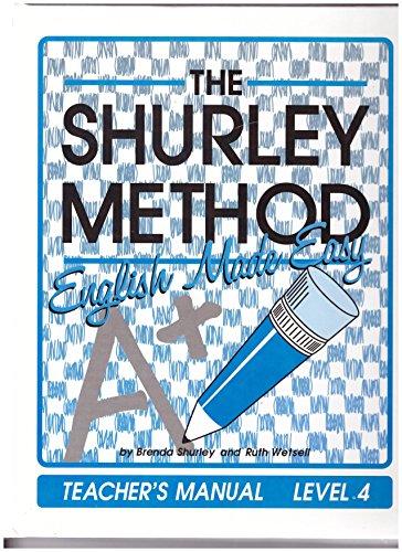 The Shurley Method, English Made Easy Level: Shurley, Brenda