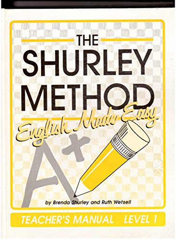 9781881940654: Shurley Method: English Made Easy, Level 1, Teacher's Manual