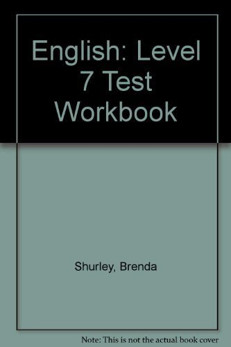 English: Level 7 Test Workbook