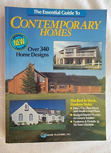9781881955023: The Essential Guide to Contemporary Homes: Over 300 Homes in Sleek, Modern Styles