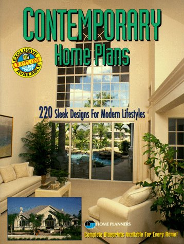 9781881955429: Contemporary Home Plans: 220 Sleek Designs for Modern Lifestyles
