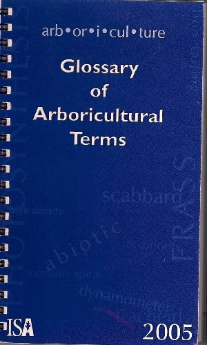 9781881956464: Glossary of Arboricultural Terms 2005