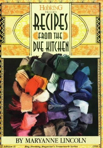 9781881982203: Recipes from the Dye Kitchen (Framework)