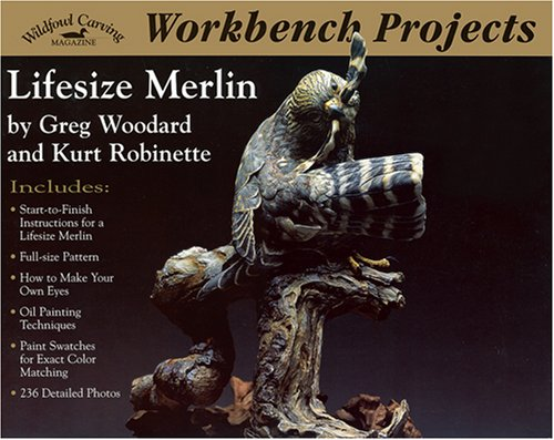 Workbench Projects: Lifesize Merlin (Wildfowl Carving Magazine