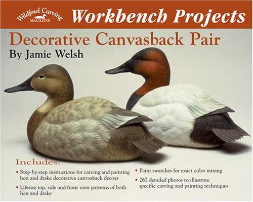 Workbench Projects: Decorative Canvasback Pair (Wildfowl Carving