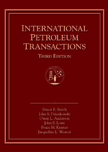 International Petroleum Transactions: Smith, Ernest E.;