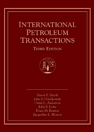 9781882047482: International Petroleum Transactions