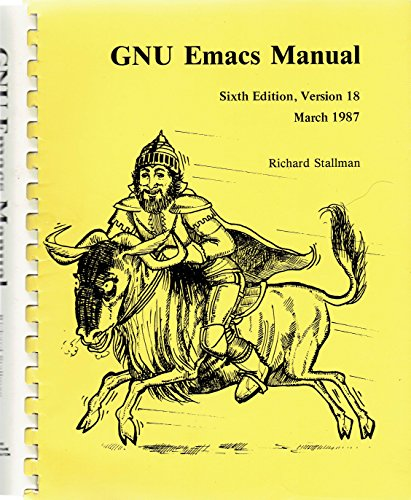 9781882114016: Gnu Emacs Manual: Version 18