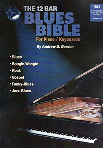 9781882146581: 12 Bar Blues Bible Pianokeyboard Gordon