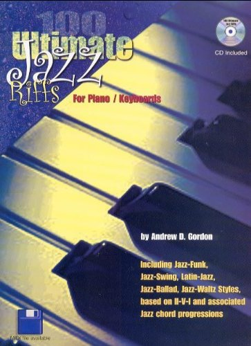 100 Ultimate Jazz Riffs for Piano Keyboards