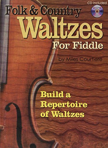 9781882146956: Folk and Country Waltzes for Fiddle (Book and Audio CD)
