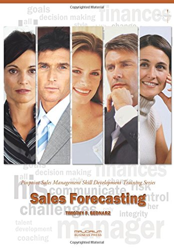 9781882181339: Sales Forecasting: Pinpoint Sales Management Skill Development Training Series
