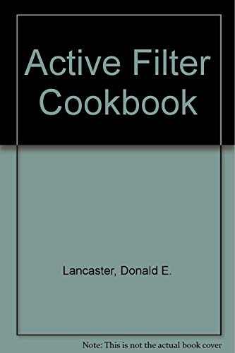 9781882193318: Active Filter Cookbook