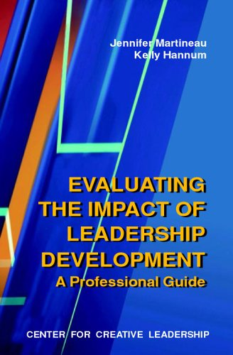 Evaluating Leadership Development Programs: Martineau, Jennifer, Hannum,