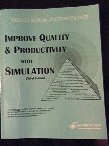 9781882229031: Improve Quality & Productivity With Simulation