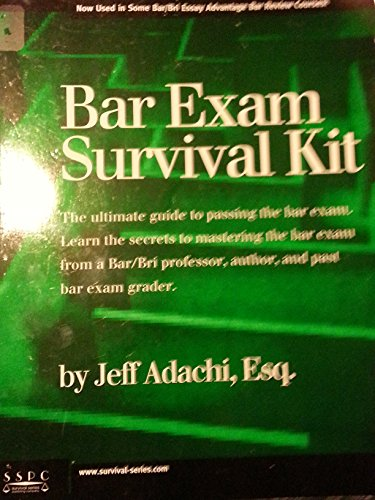 The Bar Exam Survival Kit: Jeff Adachi