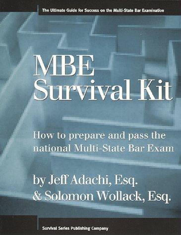 MBE Survival Kit: Jeff Adachi