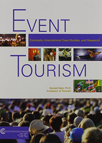 9781882345601: Event Tourism: Concepts, International, Case Studies and Research