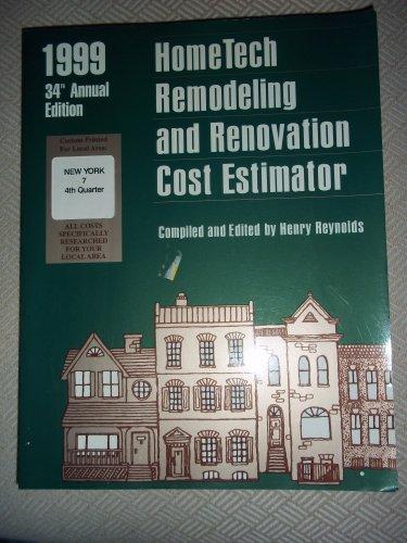 Home Tech Remodeling and Renovation Cost Estimator,: Reynolds, Henry