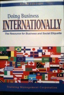 9781882390168: Doing Business Internationally: The Resource for Business and Social Etiquette