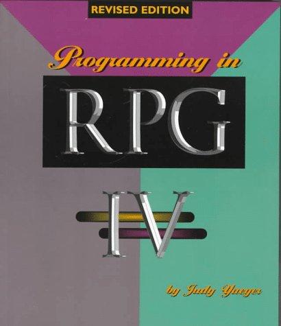 9781882419791: Programming in RPG IV