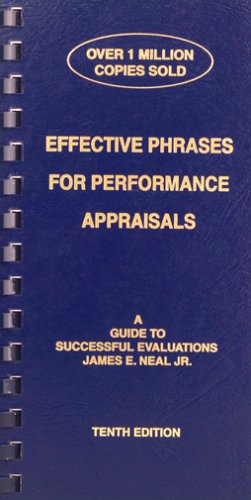 9781882423101: Effective Phrases for Performance Appraisals: A Guide to Successful Evaluations(10th Edition)