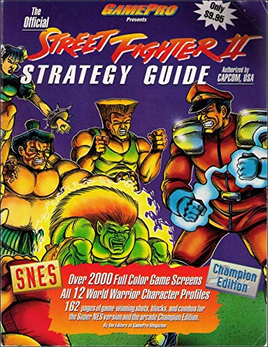 9781882455003: The Official Street Fighter Two Strategy Guide