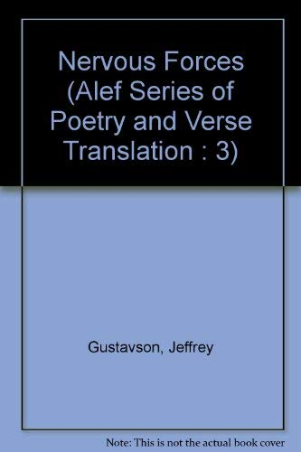 9781882509027: Nervous Forces (Alef Series of Poetry and Verse Translation : 3)
