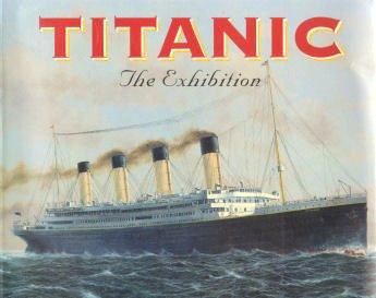 TITANIC, the Exhibition: John P Eaton
