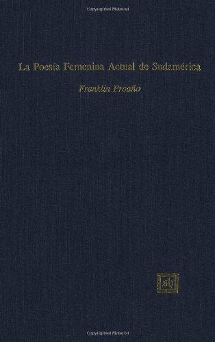 9781882528042: LA Poesia Fememina Actual De Sudamerica