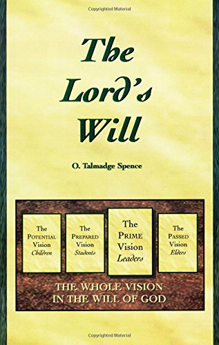 9781882542222: The Lord's Will