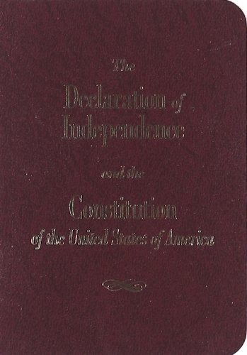 9781882577989: Declaration of Independence and the Constitution of the United Sta, THE