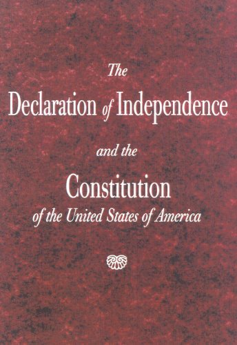 9781882577996: The Declaration of Independence and the Constitution of the United States of America 10-copy ppk