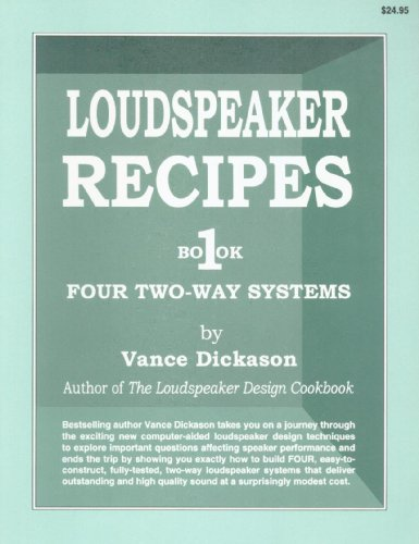 9781882580040: Loudspeaker Recipes: Book 1 : Four Two-Way Systems